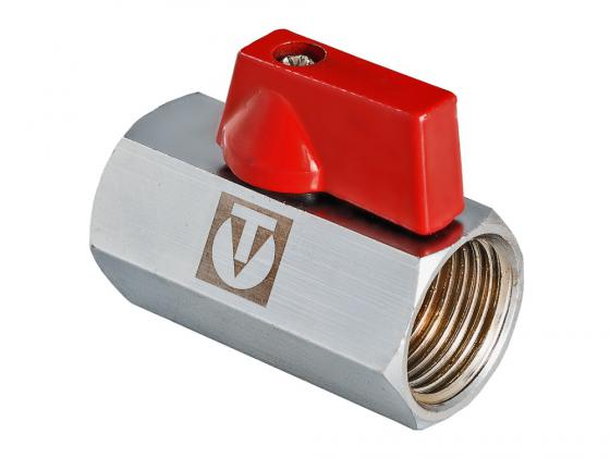 Кран шаровой MINI 1/2 вн.-вн. VALTEC VT.330.N.04 кран дренажный 1 2 valtec vt 430 n 04