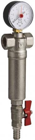 Фильтр промывной (самоочищающийся) 1 VALTEC VT.389.N.06 фильтр грубой очистки valtec vt 191