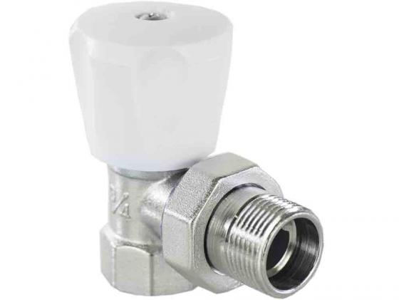 Клапан ручной угловой 1/2 (компактный) VALTEC VT.007.LN.04 комплект ручной регулировки для радиатора aqualink 1 2 угловой клапан ручной клапан запорный mp
