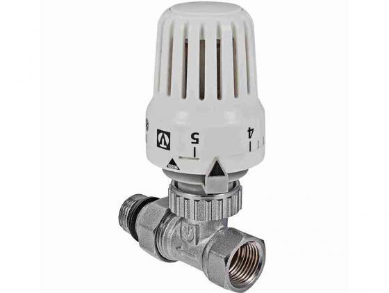 Клапан с термостатической головкой для рад. прямой 1/2 VALTEC VT.048.N.04 фильтр грубой очистки valtec прямой 1 2 в н хром vt 387