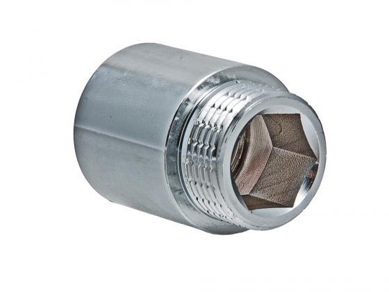 Удлинитель 1 вн. х80мм (ХРОМ) VALTEC VTr.198.C.0680