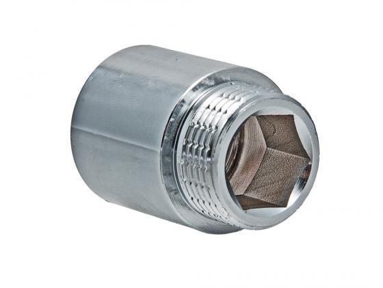 Удлинитель 3/4 вн. х80мм (ХРОМ) VALTEC VTr.198.C.0580