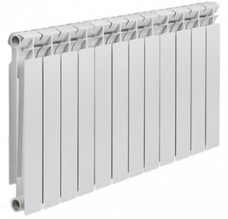цена на Радиатор алюминиевый TENRAD 500/80 12-секций