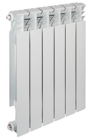 Радиатор алюминиевый TENRAD 500/80 6-секций цена