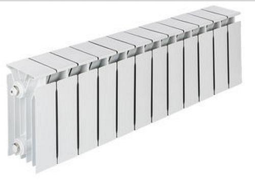 Радиатор комбинированный TENRAD AL/BM 150/120 12-секций  цена и фото