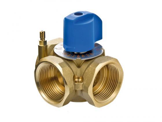 Трехходовой смесительный клапан 3/4 VALTEC VT.MIX03.G.05 четырехходовой смесительный клапан 1 1 4 valtec vt mix04 g 07