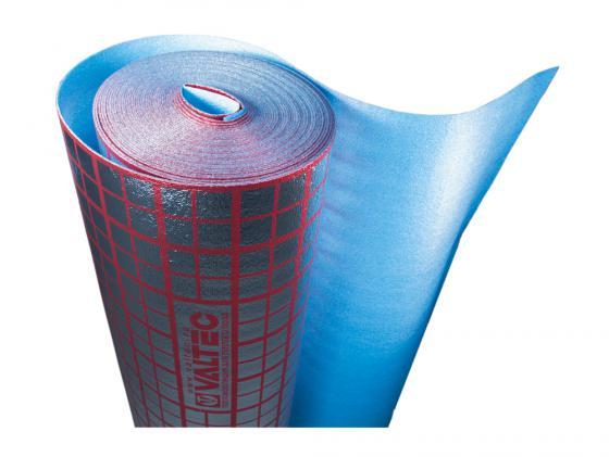 Подложка для теплого пола VALTEC, мультифольга 3мм. VALTEC VT.HS.FP.0312 рулон 30м2 пластина термораспределительная 1000х130 для сухого водяного теплого пола