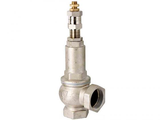 Клапан предохрохранительный регулируемый 1-12 бар 1 1/4 VALTEC VT.1831.N.07 четырехходовой смесительный клапан 1 1 4 valtec vt mix04 g 07