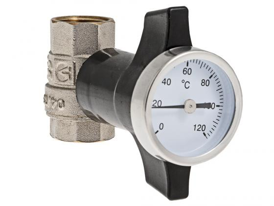 Кран шаровой c термометром, 1/2 VALTEC VT.808.N.04 electric solenoid valve for water air n c 12v dc 1 2 normally closed golden white