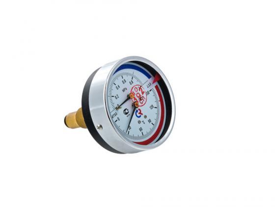 """Термоманометр ТМТБ-31T Dy 80 с задним подключением 1/2"""", 10 бар 0-150* VALTEC ТМТБ-31T"""