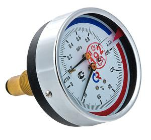 Термоманометр ТМТБ-31T Dy 80 с задним подключением 1/2, 6 бар 0-150* VALTEC ТМТБ-31T термоманометр тмтб 31t dy 80 с задним подключением 1 2 6 бар 0 150