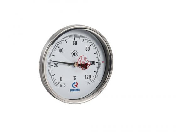 Купить Термометр БT-51 Dy100 с задн. подкл., 1/2 0-120* VALTEC БТ-51