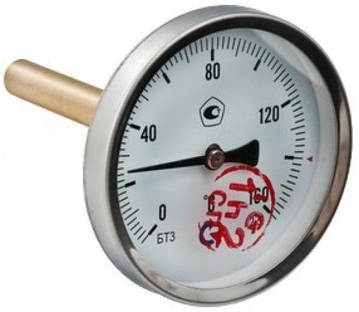 Термометр БТ-31 Dy63 с задн. подкл., 1/2 0-120* VALTEC БТ-31
