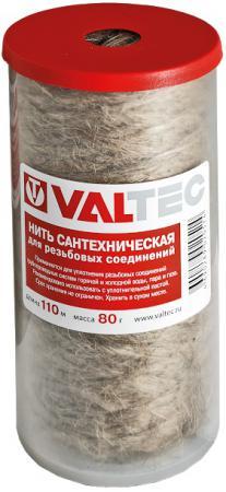 Нить сантехническая льняная, для резьб. соед. (110м) VALTEC VT.FLAX.0.110 нить льняная сантехническая valtec
