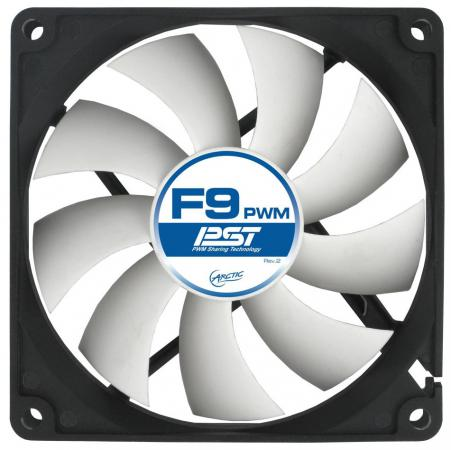 Вентилятор Arctic Cooling F9 PWM PST 92мм 1800об/мин