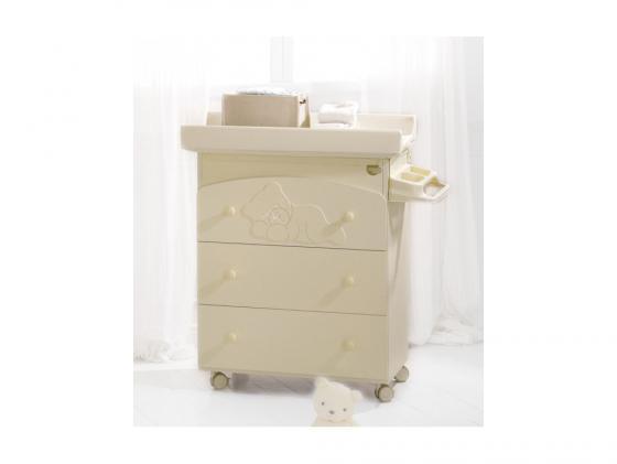 Комод пеленальный с ванночкой Baby Expert Coccolo (крем)