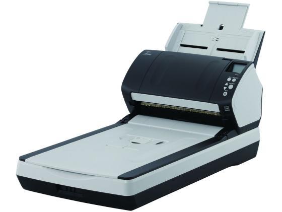 Фото - Сканер Fujitsu fi-7280 протяжный А4 600x600 dpi CCD 80ppm USB PA03670-B501 сканер fujitsu fi 7180 протяжный а4 600x600 dpi ccd 80ppm usb черный pa03670 b001