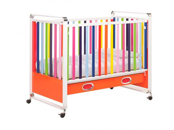 Кроватка Foppapedretti Fred Lettino (разноцветный) комоды foppapedretti fred cassettiera бельевой 4 ящика