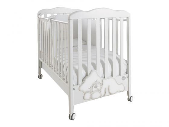 Кроватка Baby Expert Coccolo (белый) baby expert комод пеленальный baby coccolo lux