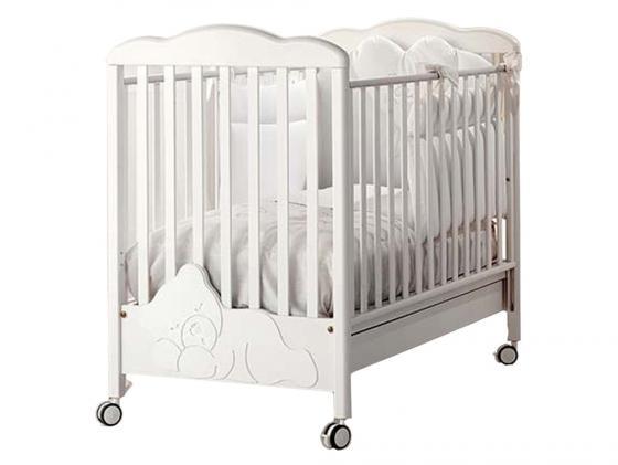 Кроватка Baby Expert Coccolo (белый) комоды baby expert baby coccolo lux пеленальный со стразами