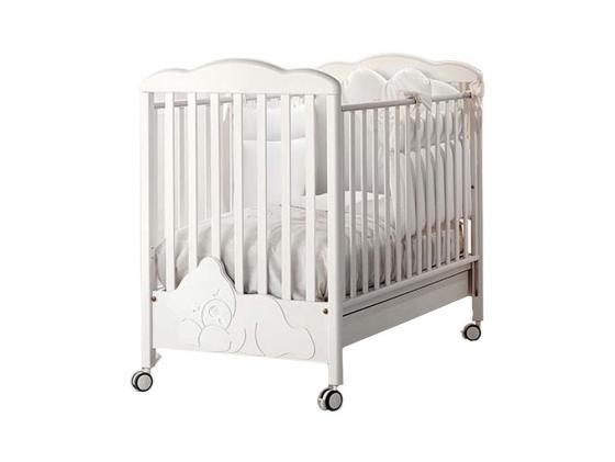 Кроватка Baby Expert Coccolo Lux (белый) baby expert комод пеленальный baby coccolo lux