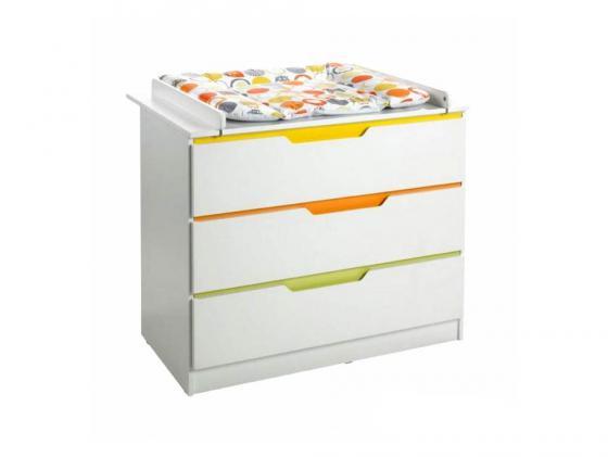 Пеленальный комод Geuther Fresh (цветная панель) полочка geuther fresh