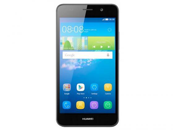 Смартфон Huawei Ascend Y6 черный 5 8 Гб LTE Wi-Fi GPS SCL-L21 смартфон huawei y6 pro золотой