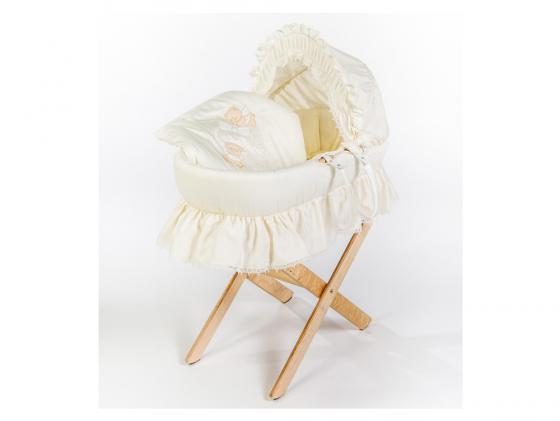 Кроватка-люлька Italbaby Amore (бежевый) 360,0082-6 детская кроватка kito amore с продольным маятником