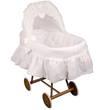 Кроватка-люлька Italbaby Amore (бежевый) 320,0082-6 детская кроватка kito amore с поперечным маятником