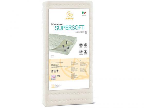 Матрас 63x125см Italbaby Supersoft 010,0920- матрас 63x125см italbaby supersoft 010 0920