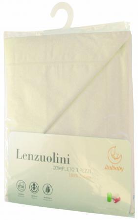 где купить Сменное постельное белье Italbaby (beige/030.1010-6) по лучшей цене