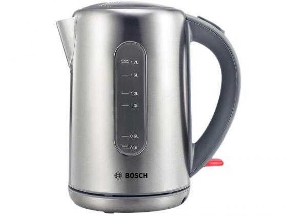 Чайник Bosch TWK 7901 1.7 л металл серебристый