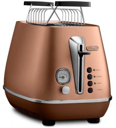 Тостер DeLonghi CTI 2103 CP медный тостер delonghi cti 2103 w
