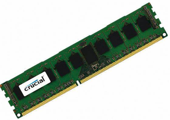 Оперативная память 4Gb PC3-12800 1600MHz DDR3 DIMM ECC Crucial CT4G3ERSLS8160B jzl memoria pc3 12800 ddr3 1600mhz pc3 12800 ddr 3 1600 mhz 4gb lc11 1 5v 240pin non ecc computer pc desktop dimm memory ram