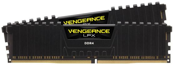Оперативная память 16Gb (2x8Gb) PC4-21300 2666MHz DDR4 DIMM Corsair CMK16GX4M2A2666C16 оперативная память 16gb pc4 21300 2666mhz ddr4 dimm corsair cmk16gx4m1a2666c16