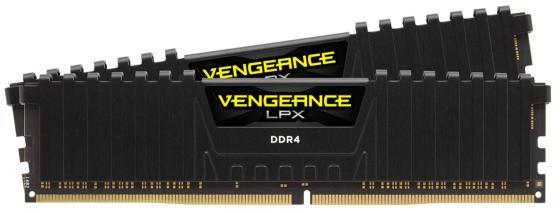 Оперативная память 16Gb (2x8Gb) PC4-21300 2666MHz DDR4 DIMM CL16 Corsair CMK16GX4M2A2666C16 оперативная память 4gb pc4 21300 2666mhz ddr4 dimm corsair cmv4gx4m1a2666c18