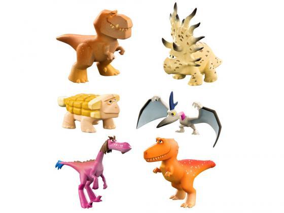 Набор фигурок Good Dinosaur Анкилозавр, Раптор, Бутч, Ремси, Аконтофиопс, Птеродактиль 62309 good dinosaur 62006 хороший динозавр маленькая подвижная фигурка юный анкилозавр