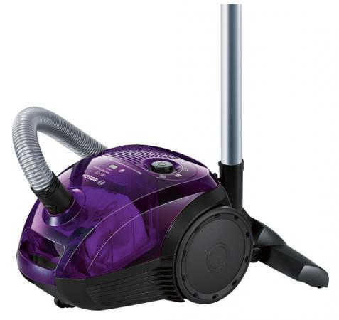Пылесос Bosch BGN21700 с мешком сухая уборка 1700Вт фиолетовый пылесос polaris pvc 2015 сухая уборка фиолетовый чёрный pvc 2015