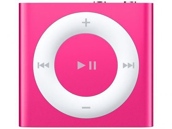 Плеер Apple iPod shuffle 2Gb MKM72RU/A розовый цифровой плеер apple ipod