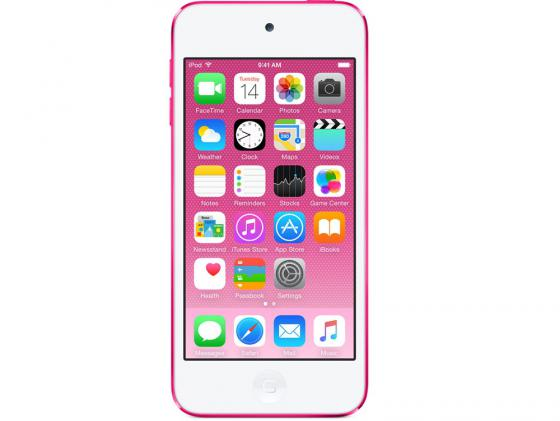 Плеер Apple iPod touch 6 32Gb MKHQ2RU/A розовый mp3 плеер apple ipod touch 6 32gb синий