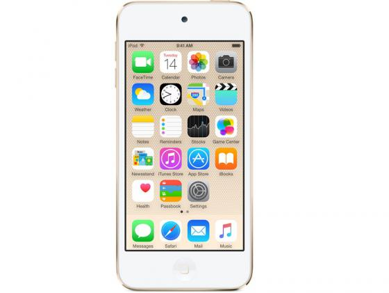 Плеер Apple iPod touch 6 32Gb MKHT2RU/A золотой mp3 плеер apple ipod shuffle 4 2015 2gb серый