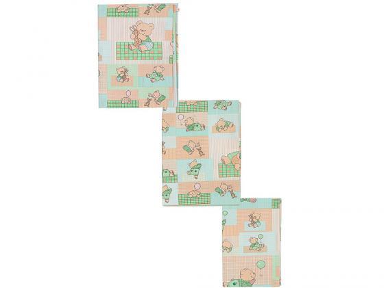 Постельный сет 7 предметов Тайна Снов Топтыжки (салатовый) тайна снов оленята 7 предметов розовый