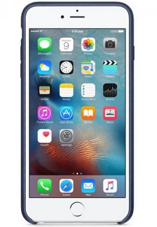 Чехол (клип-кейс) Apple Leather Case для iPhone 6S Plus синий MKXD2ZM/A