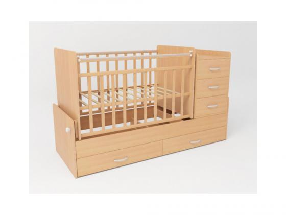 Кроватка-трансформер СКВ-5 (бежевый/534039) кроватка ковчег скв 9 94003x