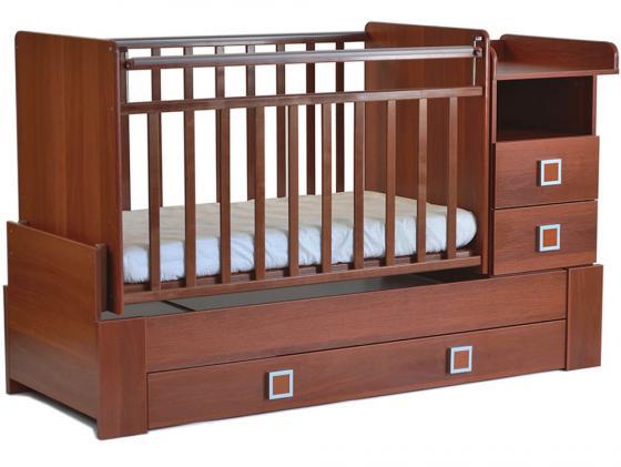 Кроватка-трансформер СКВ-8 (орех/830037) кроватка трансформер скв компани 930037 орех