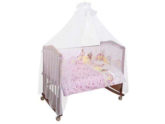 Постельный сет 7 предметов Сонный гномик Золушка (розовый) сонный гномик комбинезон трансформер бамбино розовый