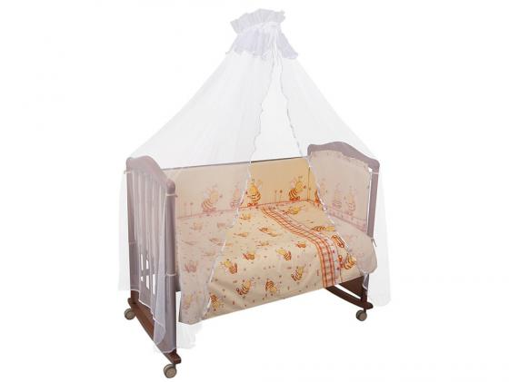 Постельный сет Сонный гномик Пчелки (бежевый) сонный гномик плед флисовый бараш сонный гномик бежевый