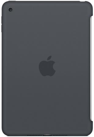 все цены на  Чехол (клип-кейс) Apple Silicone Case для iPad mini 4 серый MKLK2ZM/A  онлайн