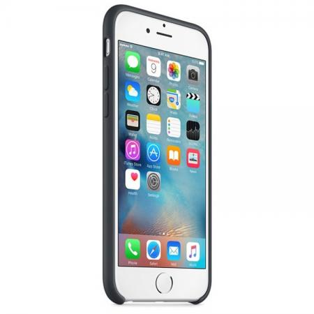Чехол Apple Silicone Case для iPhone 6 iPhone 6S серый MKY02ZM/A чехол для смартфона apple iphone 6 plus silicone case зеленый mgxx2zm a