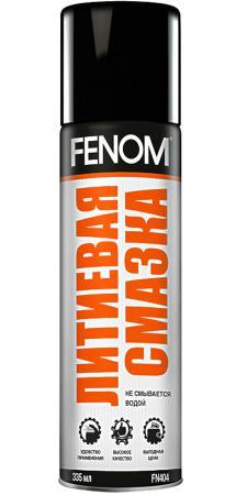 Литиевая смазка Fenom FN 404 полироль панели глянцевый fenom горная свежесть fn 410